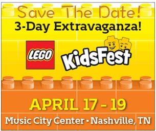 Save the Date - LEGO® KidsFest!!