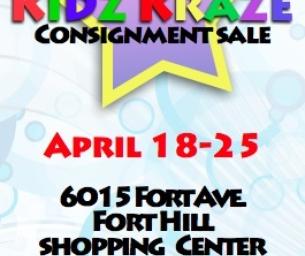 Kidz Kraze Spring Consignment Sale