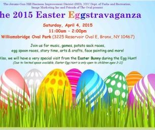 2015 Easter Eggstravaganza!