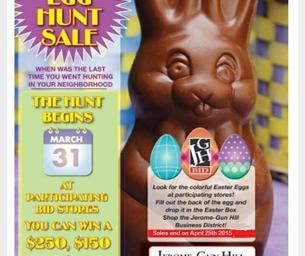 Easter Egg Hunt Sale