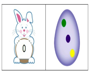 Easter Game:  Printable Domino Cards