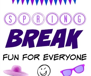 Publisher's Note: Spring Break