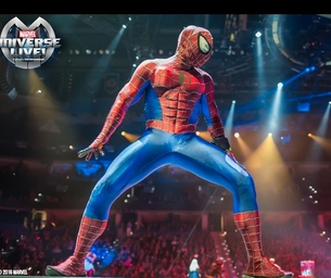 Calling ALL Marvel Fans- The SHow is on Now at Honda Center