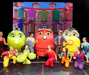 GIVEAWAY! A Pair of Tickets to See CHUGGINGTON LIVE!
