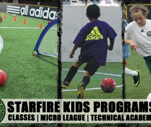 Get Your Kiddos Moving at Starfire Sports