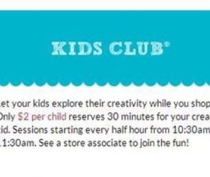 Michaels Kids Club