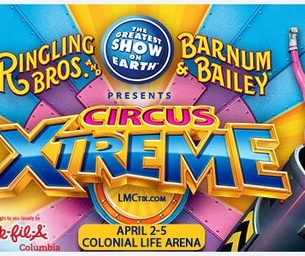 Ringling Bros and Barnum & Bailey® CIRCUS XTREME! Ticket Giveaway!