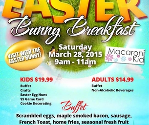 Pittsburgh's Best Bunny Bash Breakfast!   Get Your Tickets Today!