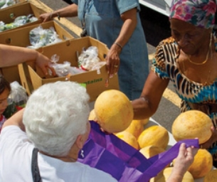 The Connecticut Food Bank Mobile Pantry