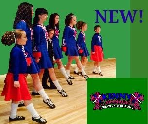Welcome Our New Sponsor Kenny Cavanaugh's School of Irish Dance