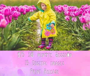 Capture Beautiful Moments - Your Family & the Tulips of Skagit Valley