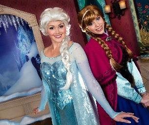 Frozen Comes to Disney Parks