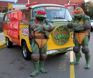 The Turtles Are in Houston This Weekend