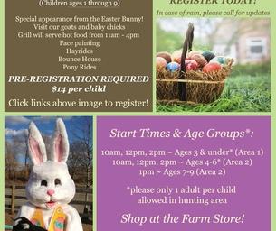 EVENT: Harvest Moon Easter Egg Hunt