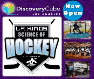 LA KINGS SCIENCE OF HOCKEY NOW OPEN AT THE LA CUBE