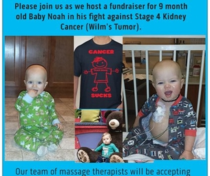 Massage-A-Thon for Baby Noah