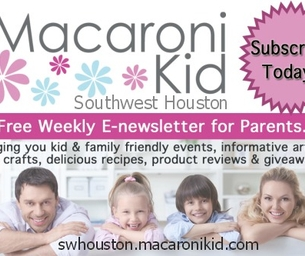 SW Houston Families - Plan Your Weekend: April 3 - April 5, 2015
