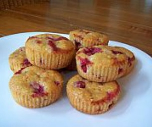 Macaroni Menu: Passover Lemon Berry Muffins