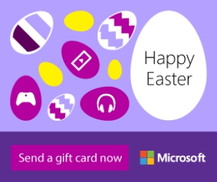 Send Easter Greetings they want with Microsoft!