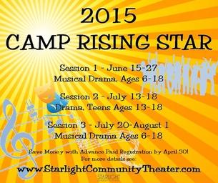 Starlight Community Theater Summer Camp