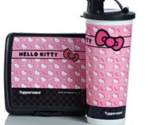 Congrats to Ellen D. She won a Tupperware Hello Kitty Tumbler & more!
