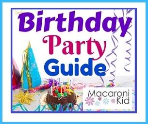 Lowell Macaroni Kid Birthday Party Directory