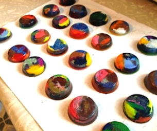 Earth Day Craft: Recycled Crayons