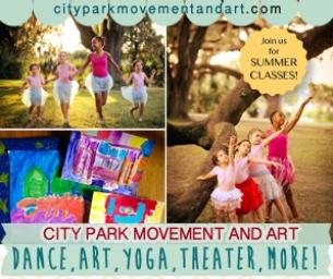 Summer Classes at City Park Movement & Art