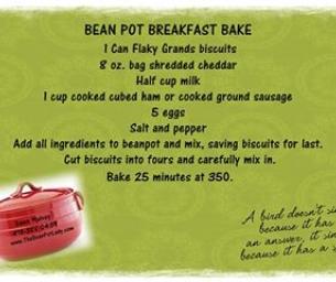 Bean Pot Breakfast Bake