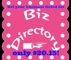 Get Your Business Listed for Only $20.15 in 2015!
