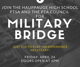 Join Hauppauge High School PTSA & The PTA Council for Military Bridge!