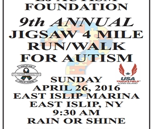 EJ Autism Foundation's 9th Annual Jigsaw 4 Mile Run/Walk For Autism