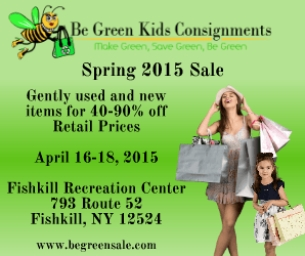 GIVEAWAY: Be Green Consignment Sale