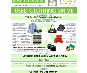 EVENT: Spring Cleaning Used Clothing Drive