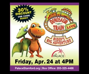 Giveaway: Dinosaur Train LIVE! at The Palace Theatre