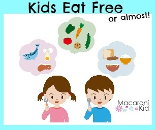 Kids Eat Free (or almost!)