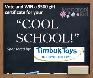 """WIN $500 IN LEARNING SUPPLIES FOR YOUR """"COOL SCHOOL"""""""