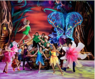 DISNEY ON ICE PRESENTS WORLDS OF FANTASY