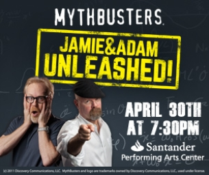 "Enter to Win Tickets to ""MythBusters Jamie & Adam UNLEASHED!"""