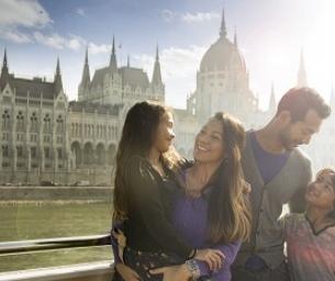 Family River Cruising on the Danube