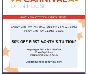 EVENT: The Goddard School's Carnival Open House