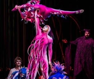 Varekai By Cirque Du Soleil Descends From The Sky