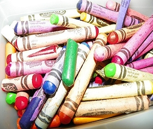 Crayon Recycling - Macaroni Made