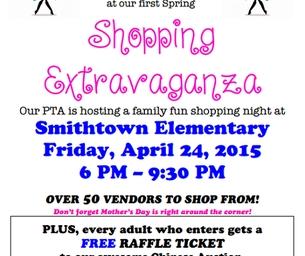Smithtown Elementary PTA- Spring Shopping Extravaganza!
