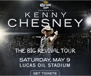 Giveaway of 2 Tickets to Kenny Chesney - The Big Revival Tour 2015