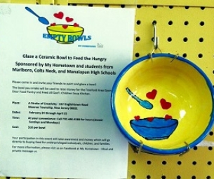 Support Empty Bowls...Glaze a Ceramic Bowl to Feed the Hungry