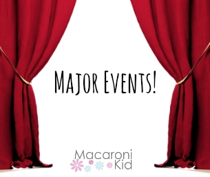 Major Events- Get Your Tickets Now!