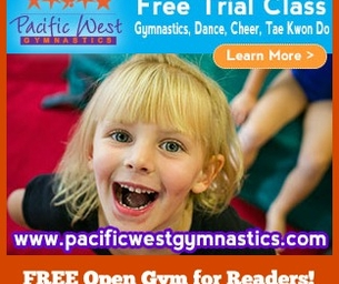FREE Open Gym for Macaroni Kid Subscribers at Pacific West Gymnastics!