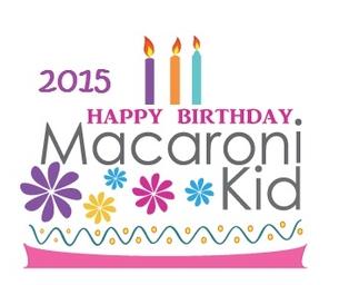 2015 Macaroni Kid Birthday Guide!!