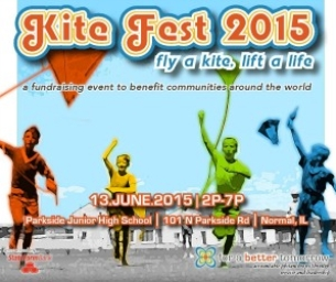 Save the Date: Kite Fest 2015 coming to Normal Saturday, June 13th